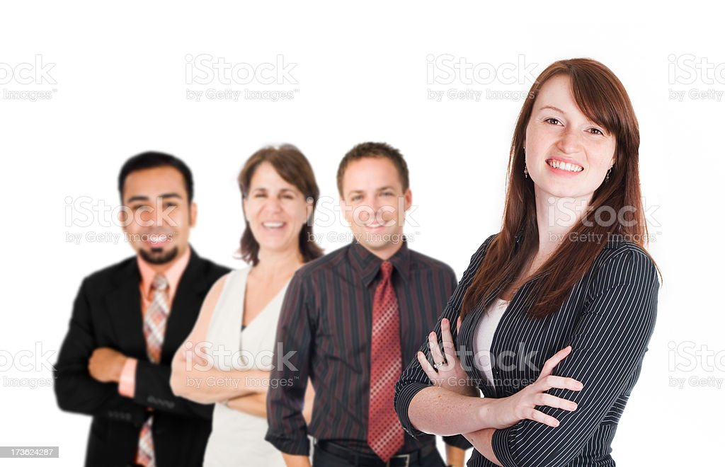 Executive Team royalty-free stock photo