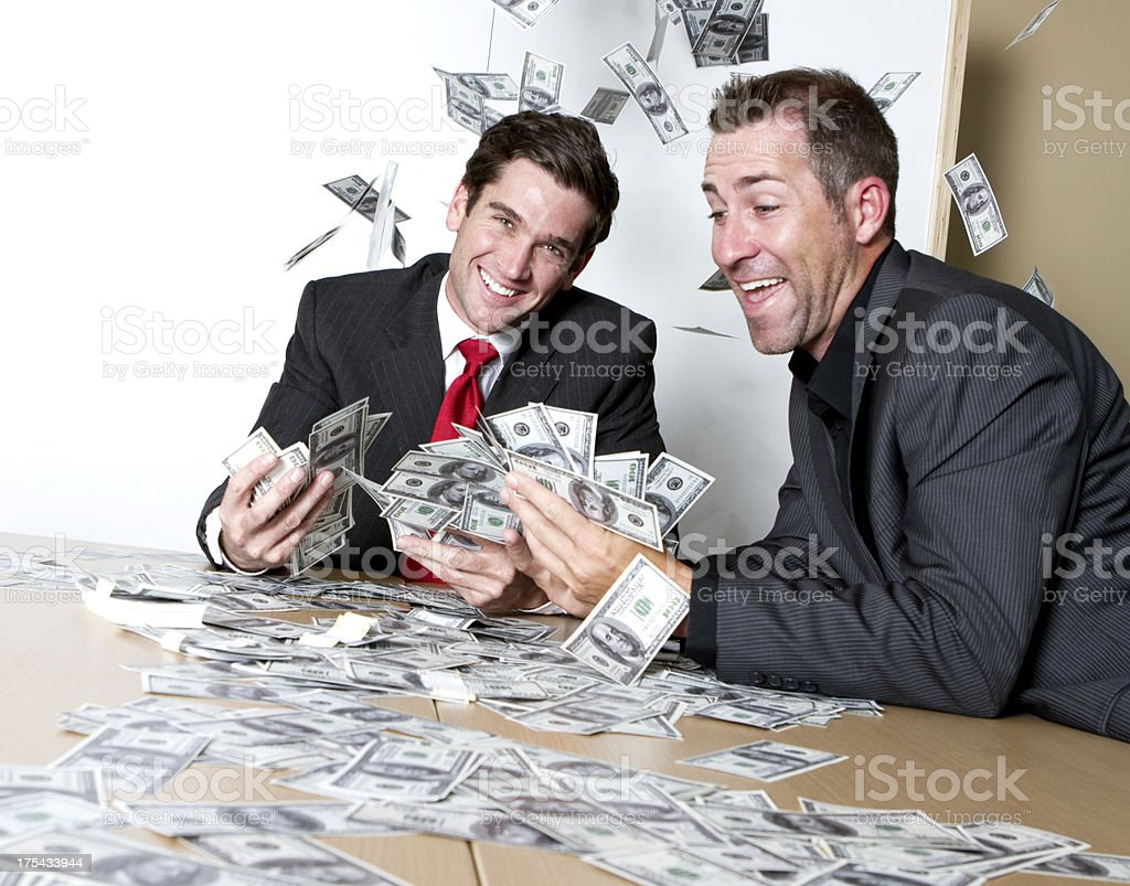 Executive Wealth royalty-free stock photo