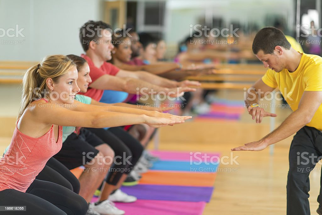 Exercise and Fitness royalty-free stock photo