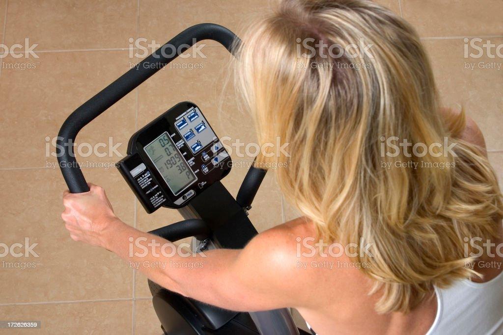 Exercise Bike 4 royalty-free stock photo