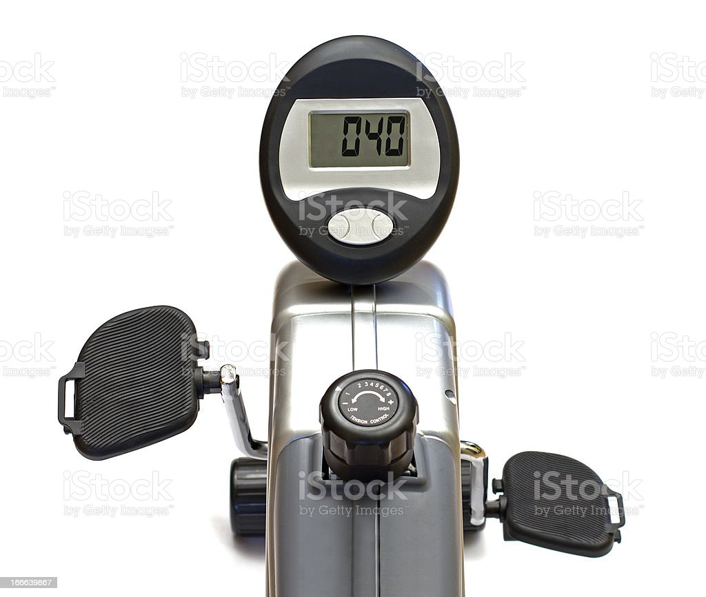 exercise bike royalty-free stock photo