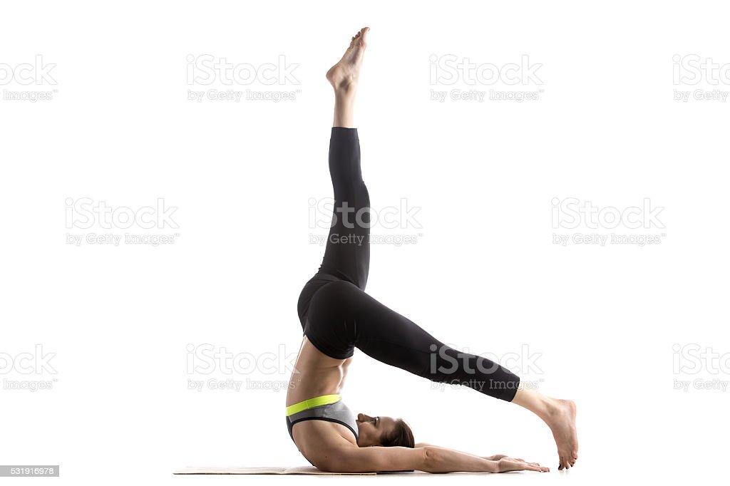 Exercise Control Balance stock photo