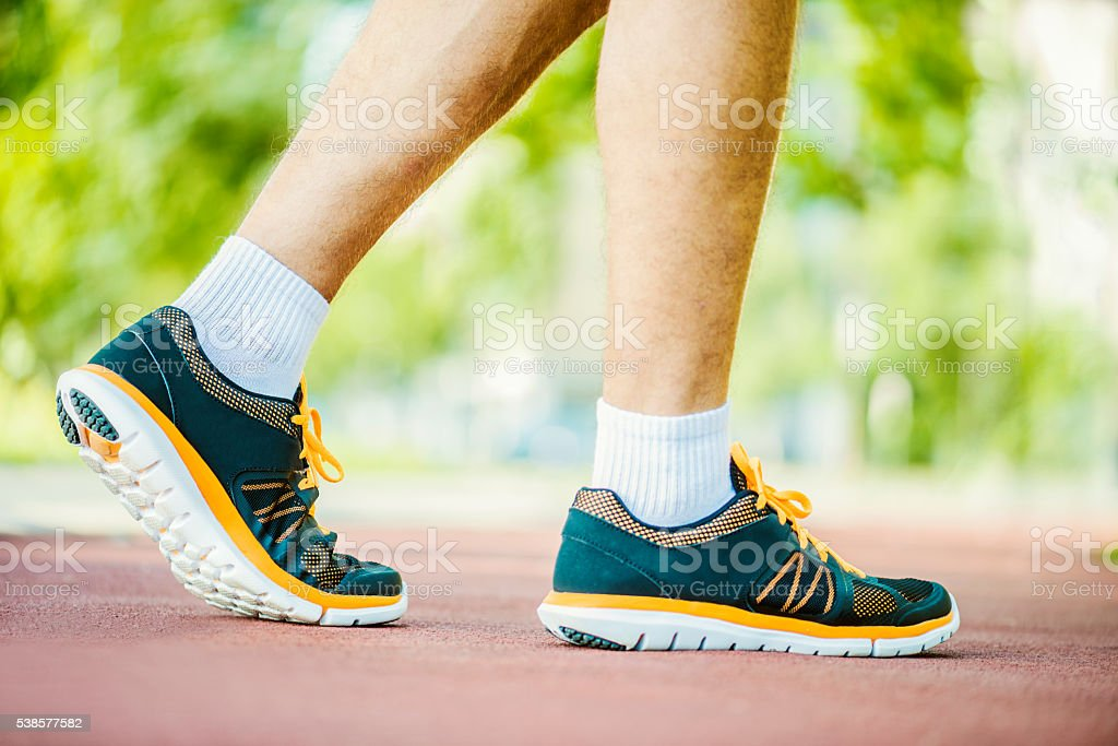 Exercise, fitness and healthy lifestyle stock photo