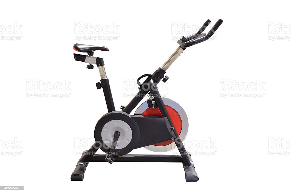 exercise machines stock photo