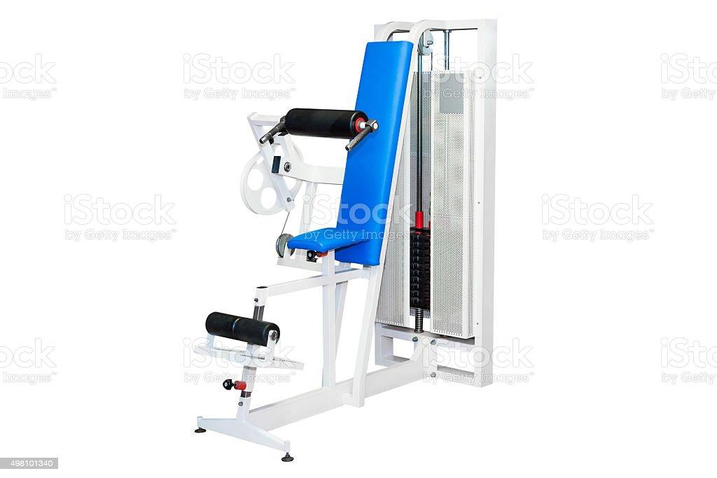 exercise machines stock photo