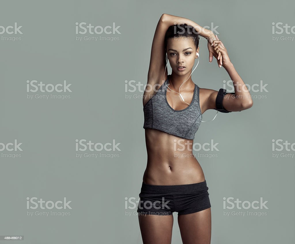 Exercise pays off stock photo