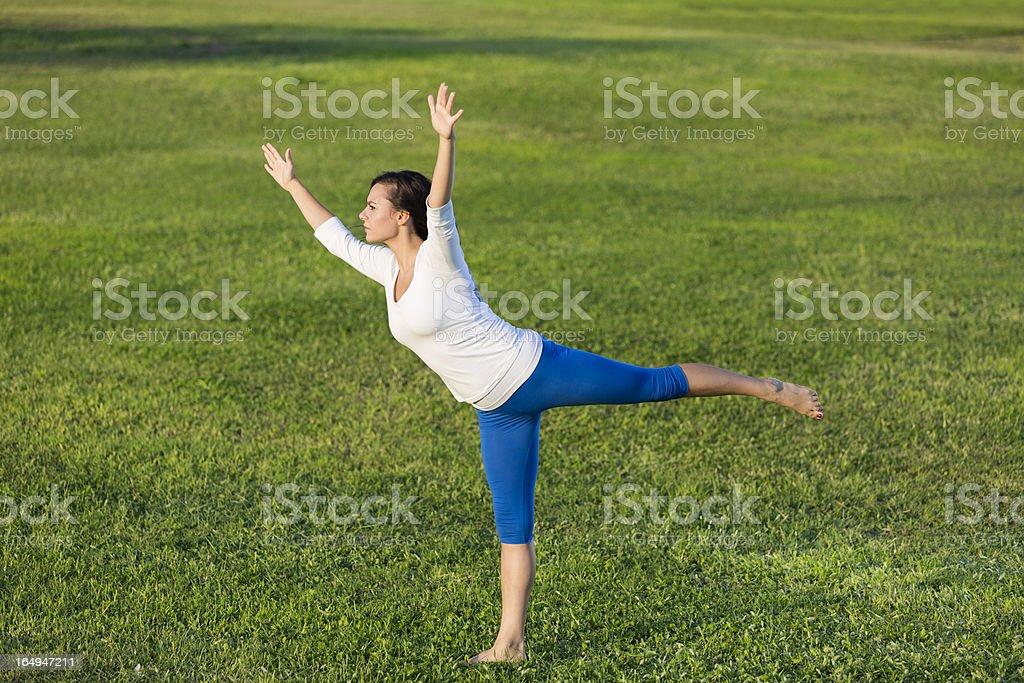 Exercise royalty-free stock photo