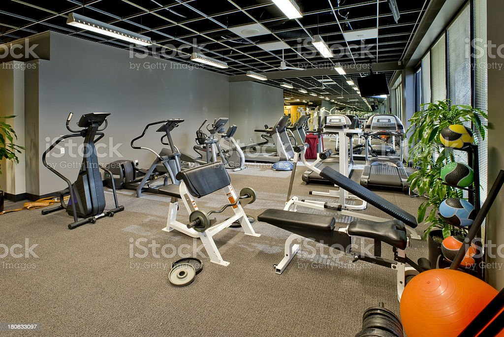 Exercise Room royalty-free stock photo