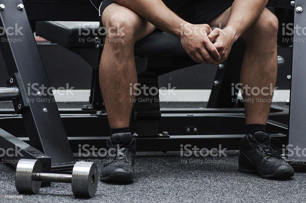 Exercise Weight royalty-free stock photo