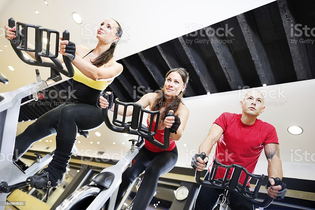 Spinning Attend royalty-free stock photo