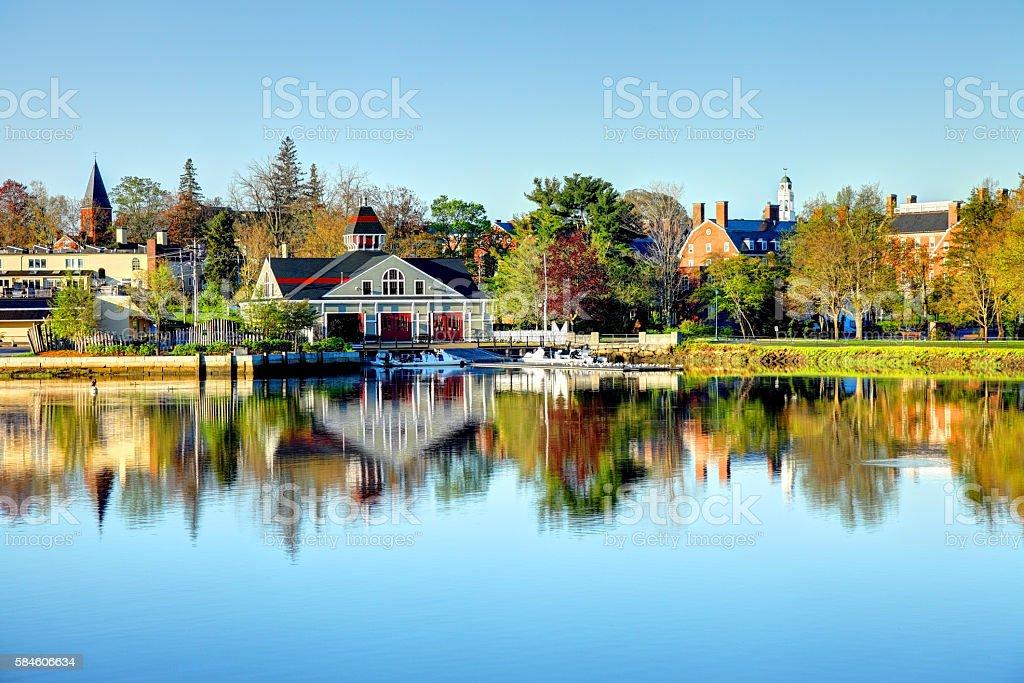 Exeter New Hampshire stock photo