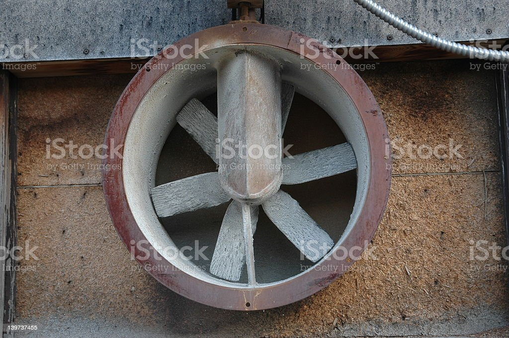 Exhaust Fan royalty-free stock photo