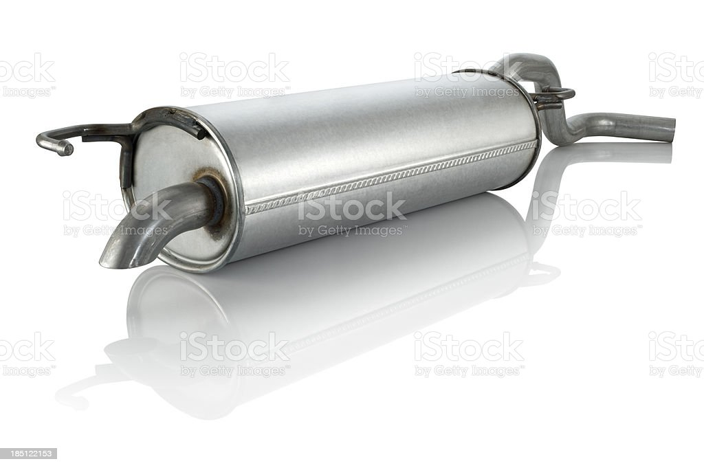 Exhaust Silencer royalty-free stock photo