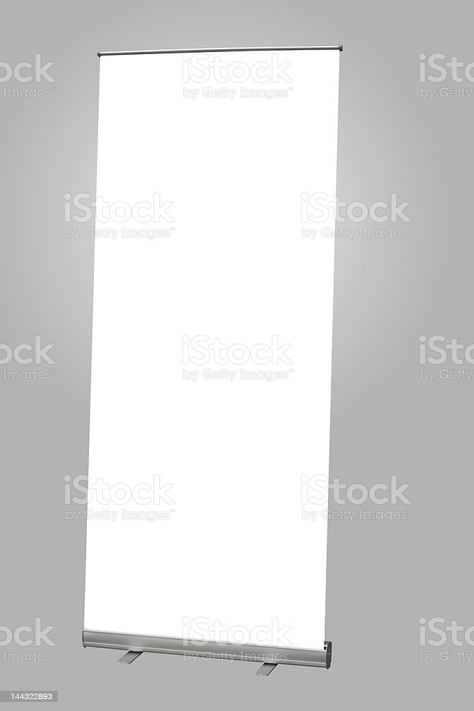 Exhibition Banner stock photo