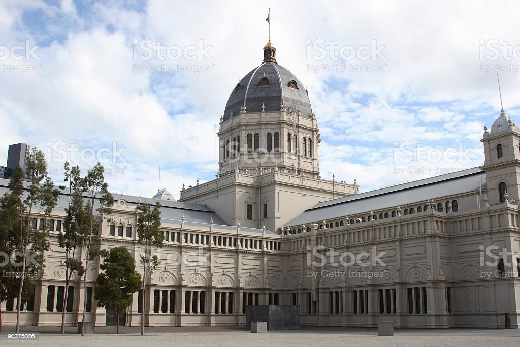 Exhibition Buildings royalty-free stock photo