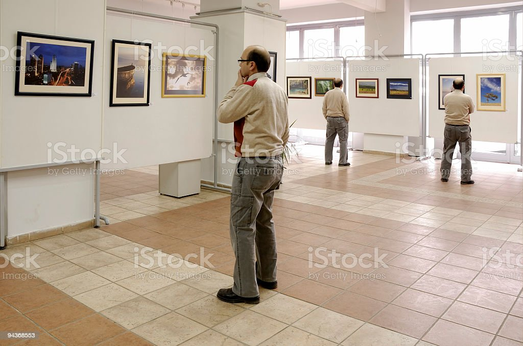Exhibition royalty-free stock photo