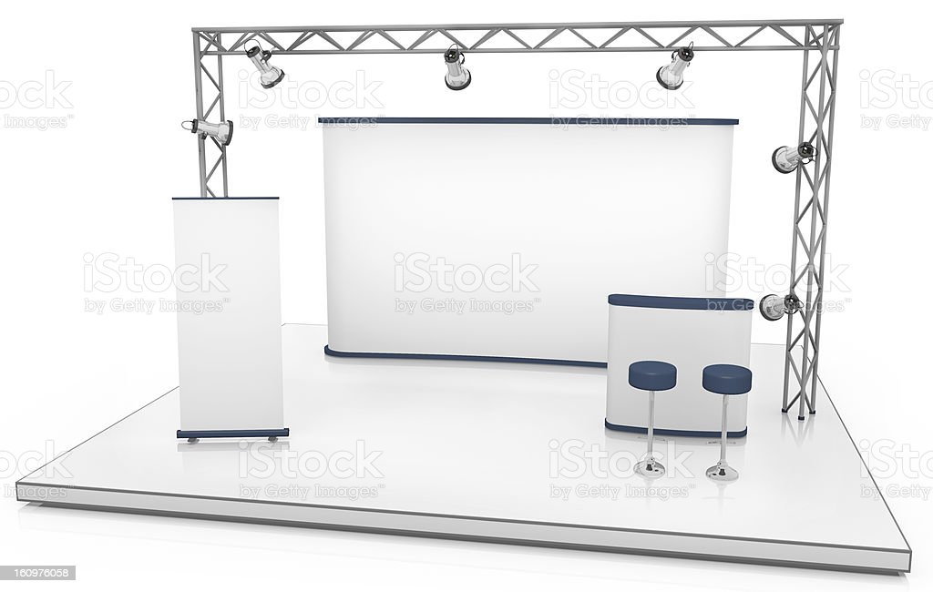 Exhibition stand royalty-free stock photo