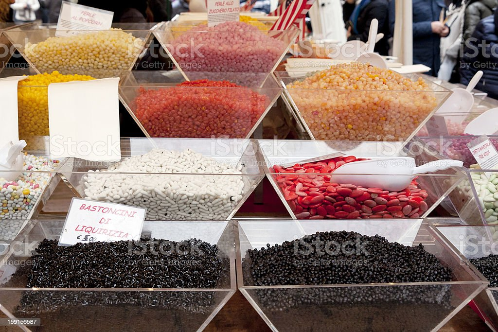 exhibitors of candy royalty-free stock photo