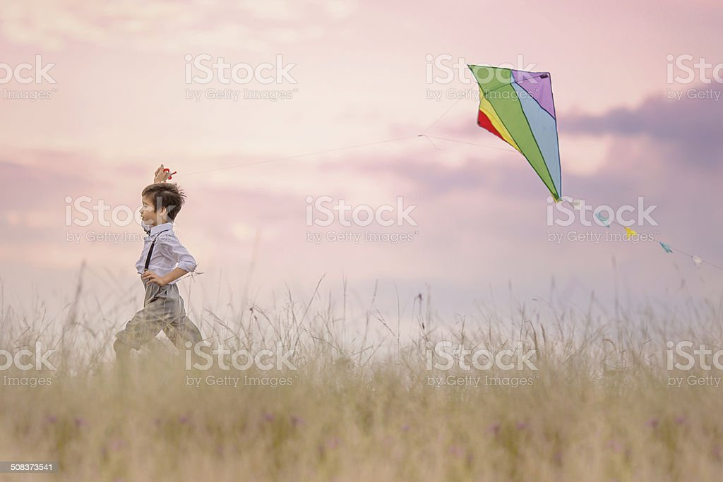 Exhilaration stock photo