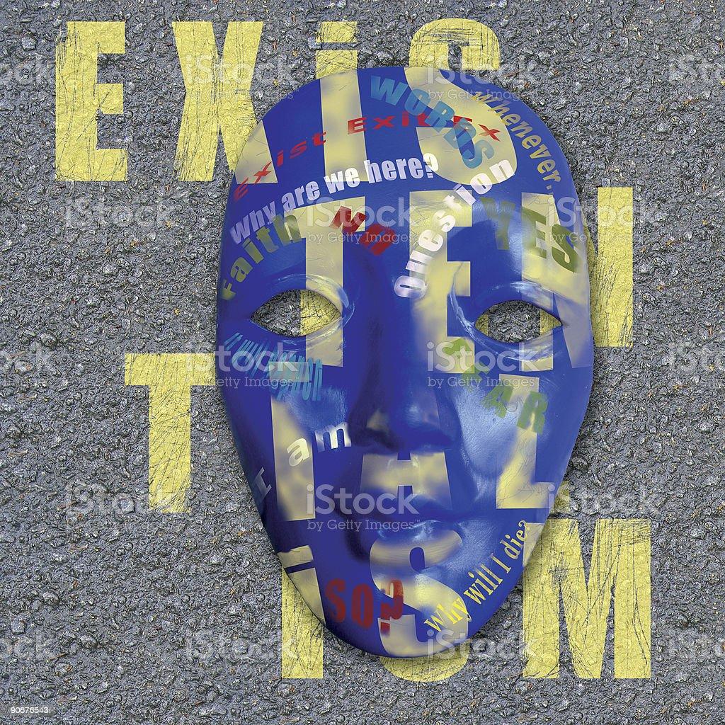 Existentialism stock photo