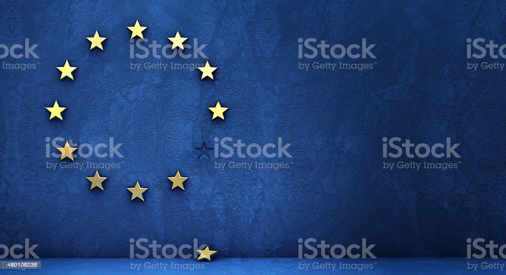 exit from the eurozone stock photo