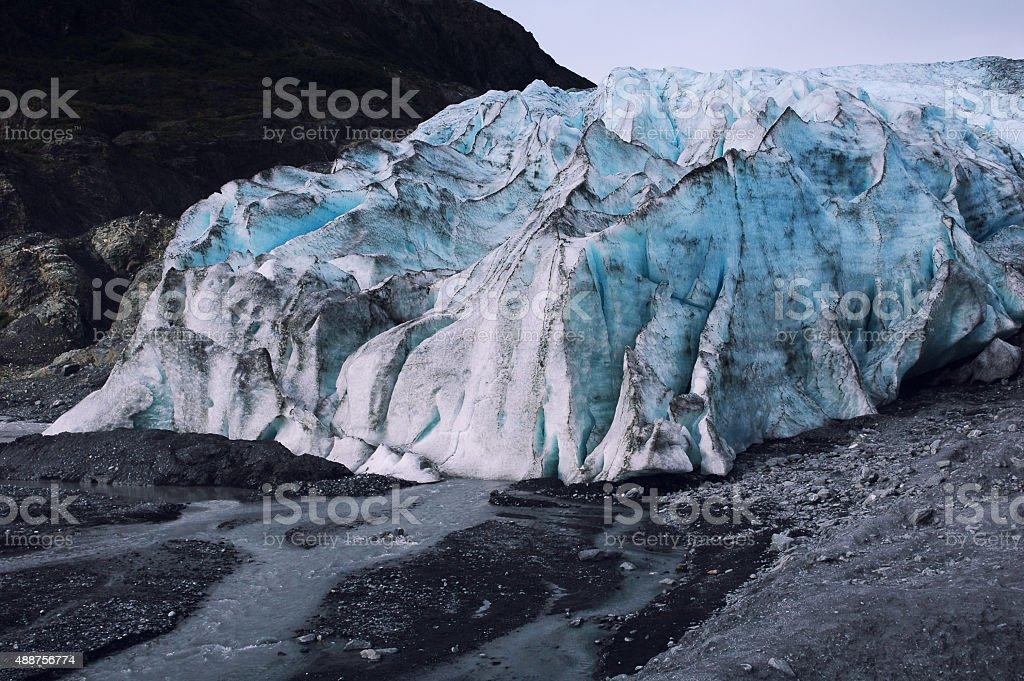 Exit Glacier,Seward,Alaska stock photo