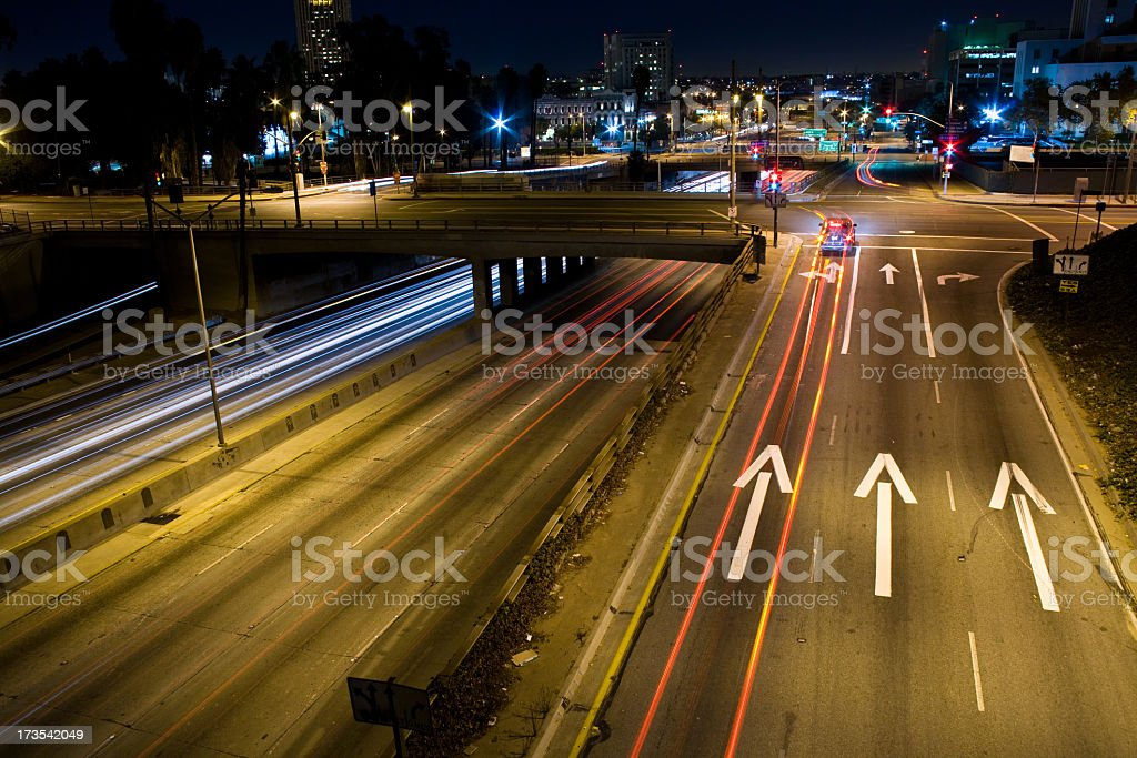 Exit on the 101 Freeway royalty-free stock photo