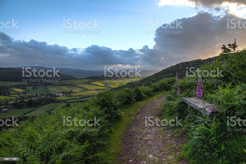 Exmoor National Park stock photo