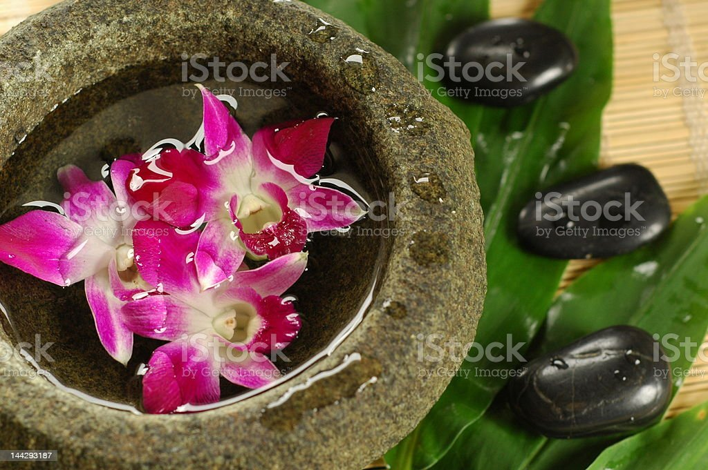 Exotic Asian Spa royalty-free stock photo