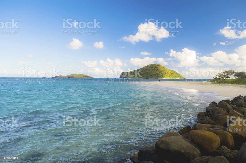 exotic beach and islands royalty-free stock photo