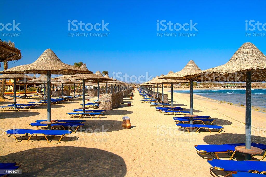 Exotic Beach royalty-free stock photo