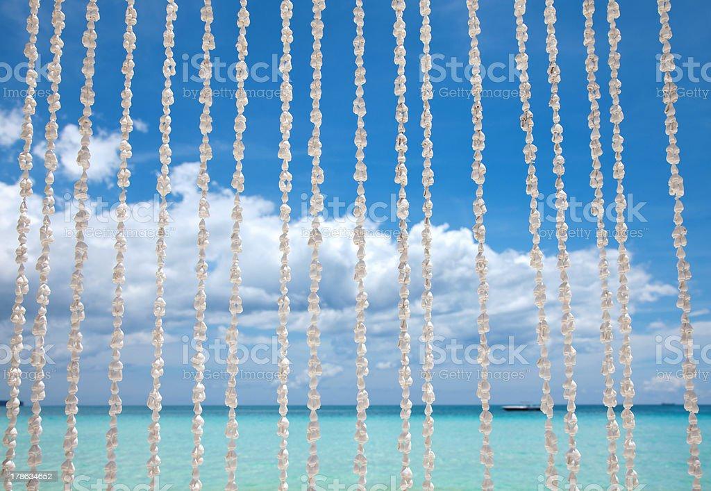 Exotic beach stock photo