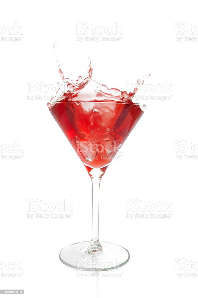 Exotic cocktail stock photo