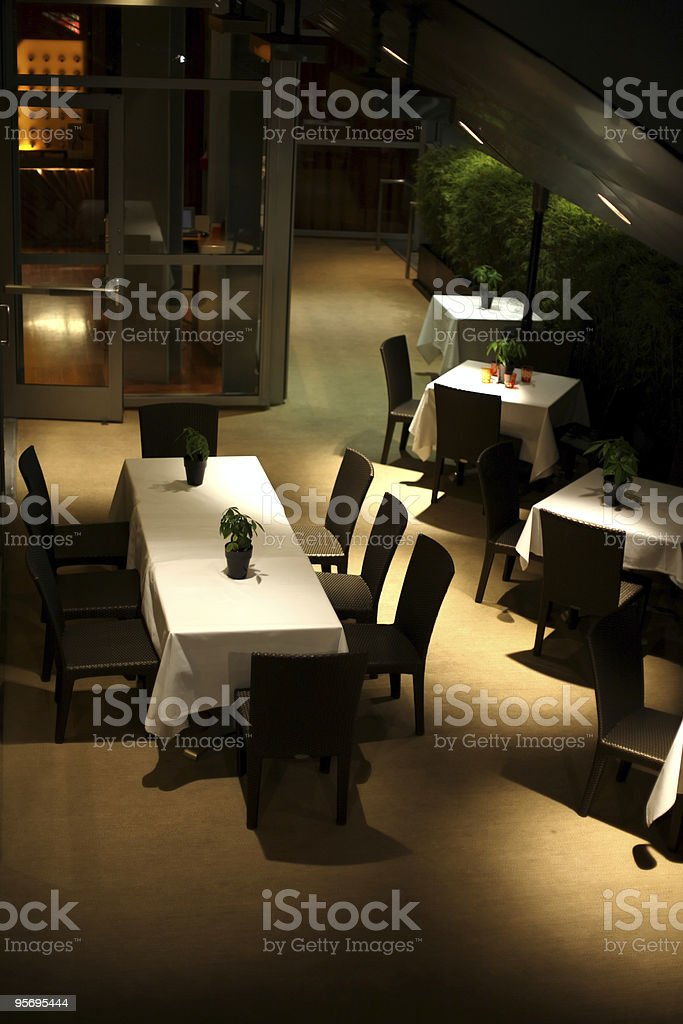 Exotic Dining royalty-free stock photo