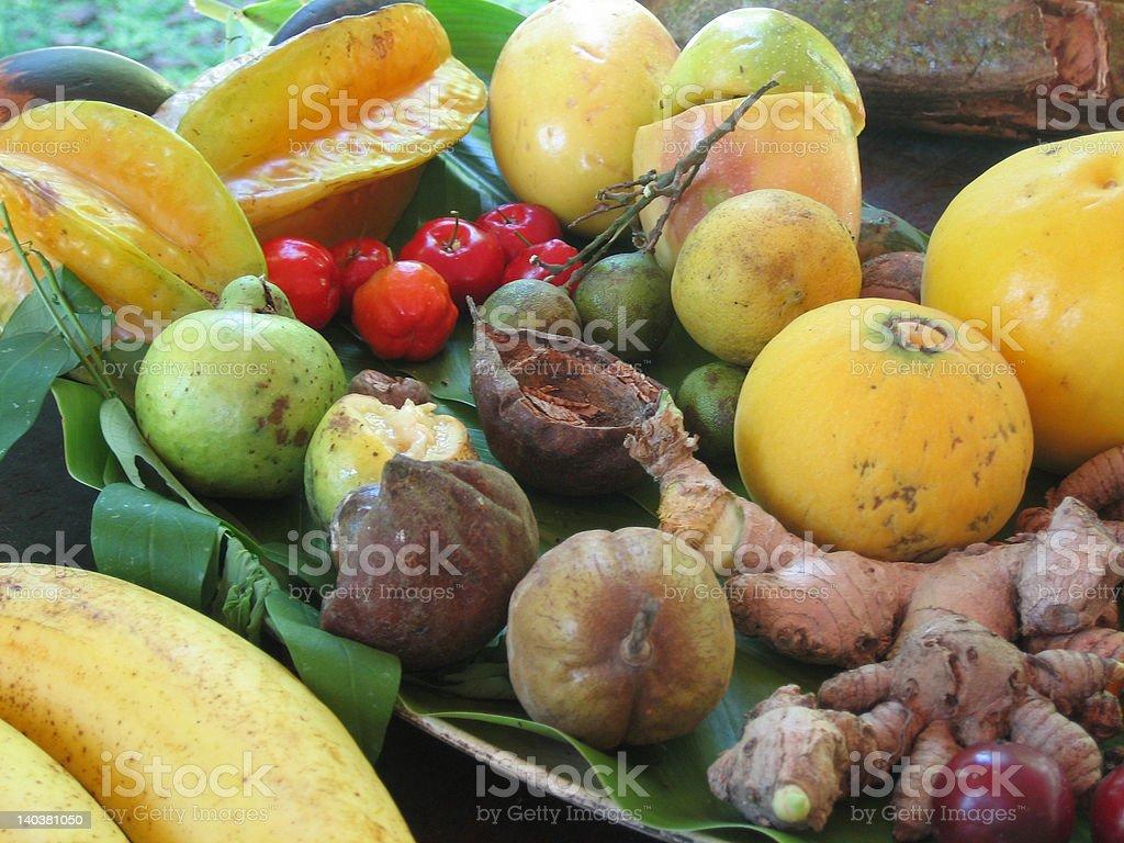 Exotic Fruits royalty-free stock photo