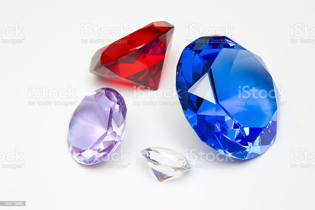Exotic Gems royalty-free stock photo