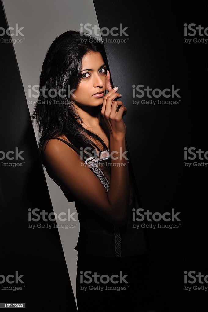 Exotic Indian beauty royalty-free stock photo