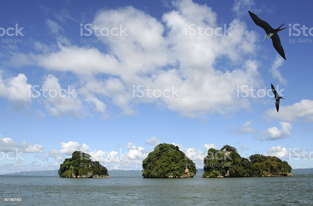 Exotic islands royalty-free stock photo