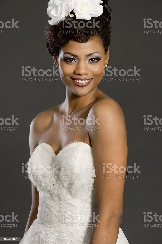 Exotic Model royalty-free stock photo