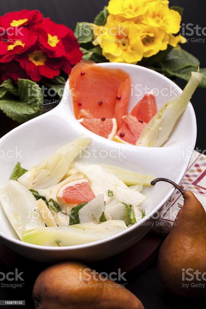 Exotic Salad royalty-free stock photo
