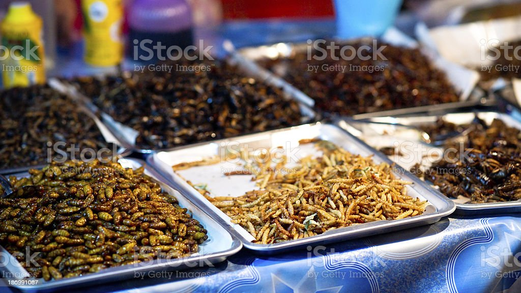 Exotic snacks royalty-free stock photo