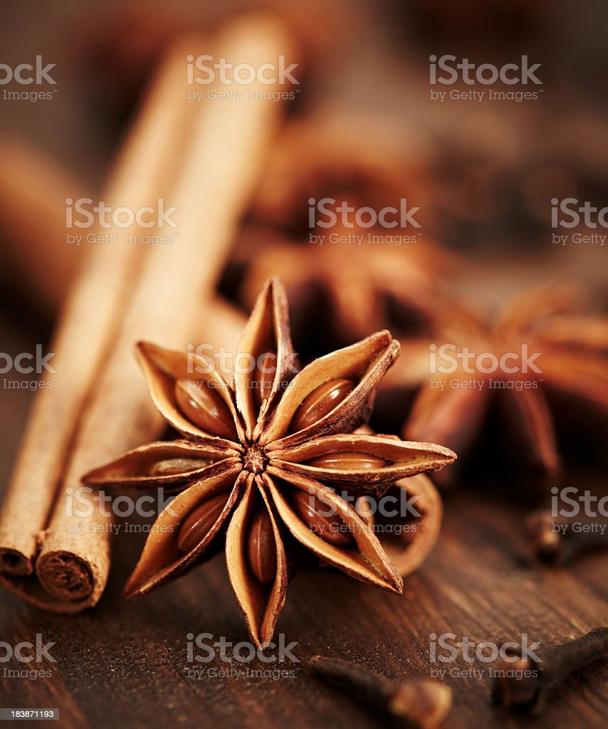 Exotic  spice stock photo