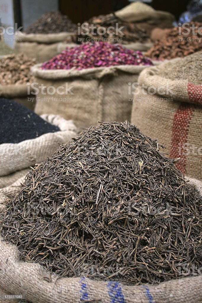 Exotic Spices stock photo