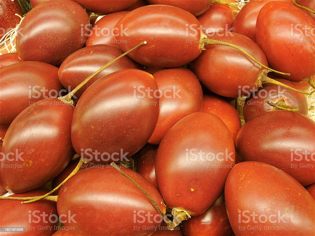 Exotic Tomatoes royalty-free stock photo