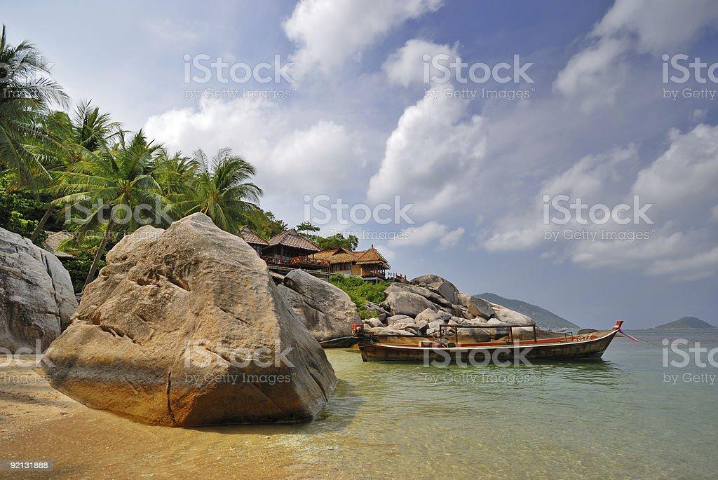 Exotic Vacation royalty-free stock photo