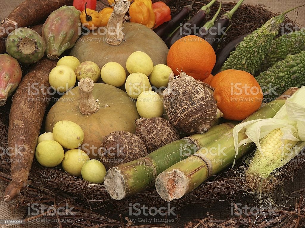 Exotic vegetables royalty-free stock photo