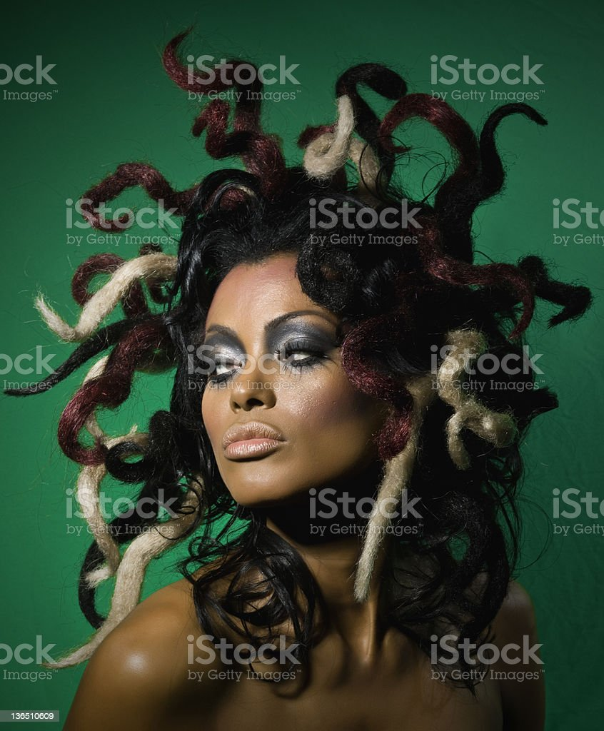 Exotic woman royalty-free stock photo