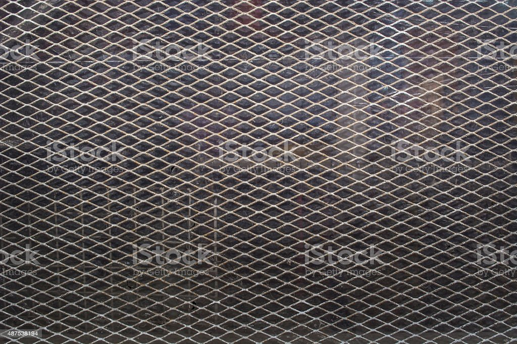 Expanded Metal stock photo