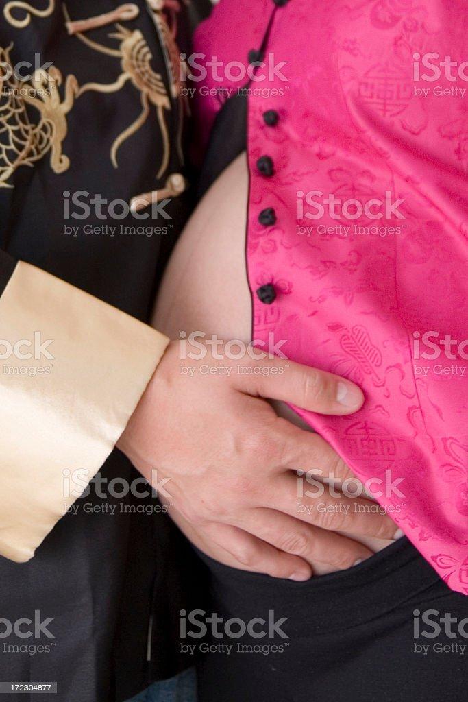 Expecting Parents stock photo