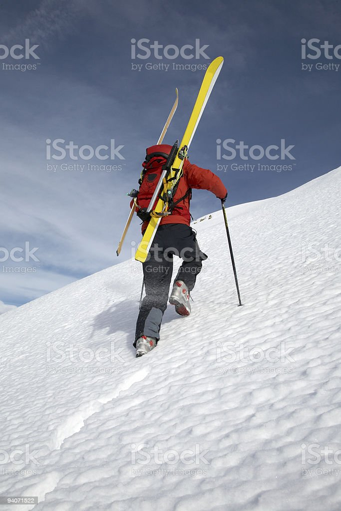 Expedition hiking royalty-free stock photo